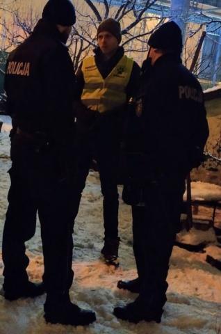 Współpracujemy z Policją